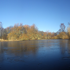 Panorama-Herbst-Riedteich